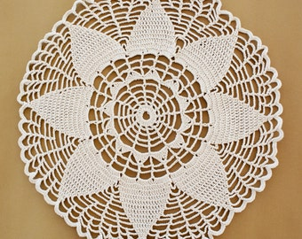BIG SALE, Lace Doilies, Crochet Doily, Vintage  Handmade Lace, Crochet Lace Napkin, Lace  Doily, Vintage Decoration, Tablecloth, Home Decor