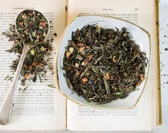 Pineapple Green Tea / Green Tea Blend / Green Tea Fruity Blend / GREEN DRAGON