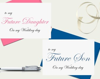 Gift For Stepson On Wedding Day : To my Step-Daughter on my Wedding Day, Wedding Card to my Step ...