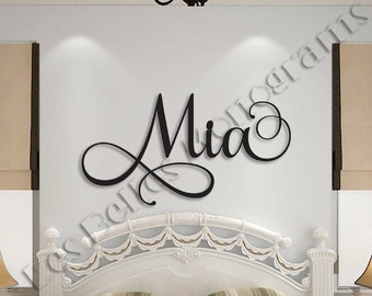 office large wooden name sign letters baby name wooden nursery name nursery decor wooden wall art above a crib