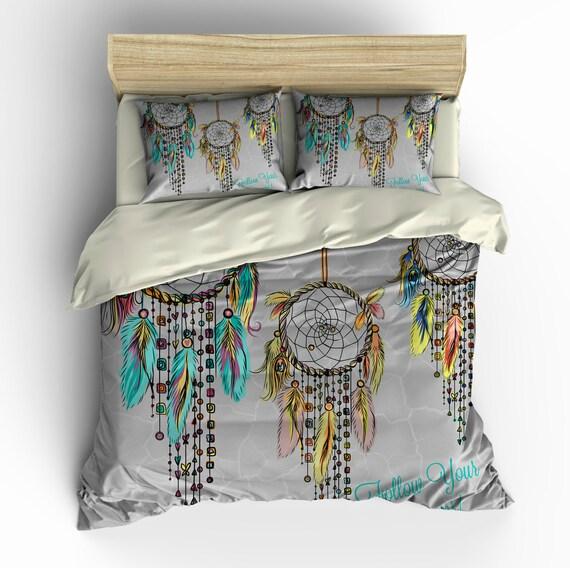 Sale Dream Catcher Bedding Duvet Cover Set Ready To Ship