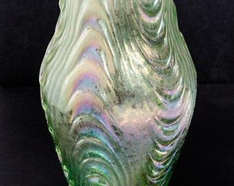 Loetz Oceanik Oceanic vase circa 1905