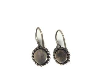 Sterling Silver Grecian Earrings