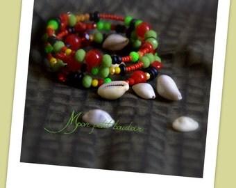 """bracelet à mémoire de forme """"Jamaica"""""""