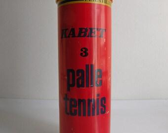 Box tennis balls KABET – Vintage