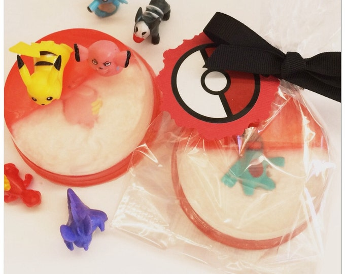 Pokemon Surprise Inside Toy Soap/Cherry Scent