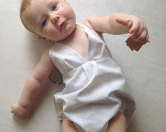 Baby Girls Heavenly Haltersuit Onesie Rompers