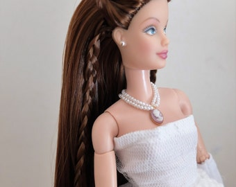 Barbie Doll Reroot Service /LONG LENGHT HAIR/