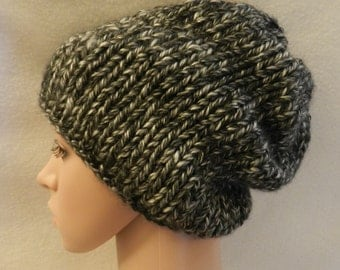 Hand knitted Hometone USA  Bulky Warm Hat v13.a