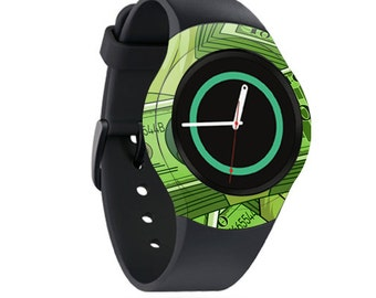 Skin Decal Wrap for Samsung Gear S2, S2 3G, Live, Neo S Smart Watch, Galaxy Gear Fit cover sticker All About Benjamin