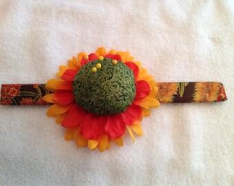 Wrist Flower Pincushion