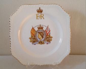 Johnson Brothers 1953 Queen Elizabeth Coronation Plate