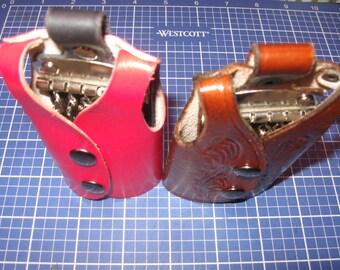 Elegant Keys Holder handcraft Veg-tanned leather Key case