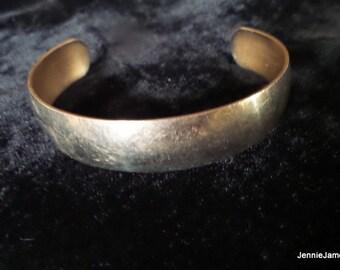 Cuff Style Gold Bracelet