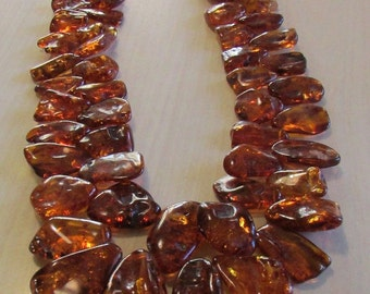 Huge Amber Necklace