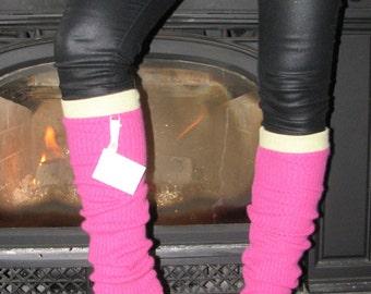 Cashmere Leg Warmers - Repurposed Cashmere