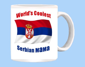 World's Coolest Serbian Mama mug