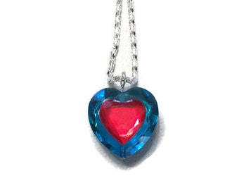 Legend of Zelda Ocarina of Time piece of heart container necklace