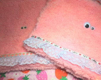 Baby Furry Monster Pouch (medium)
