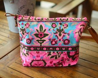 Pink Crossbody bag / Cute bag / Gift
