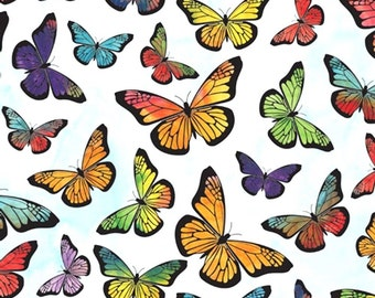"Monarch Butterfly Tissue Paper # 373  ..10 large sheets - 20"" x 30"" - Nature"