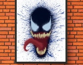 Splatter Painting - Venom...