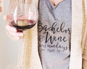 Bachelor + Wine Tank Top // gifts for her // bachelor // bachelorette // wine tank // bachelor nation // bachelor monday // rachel lindsay