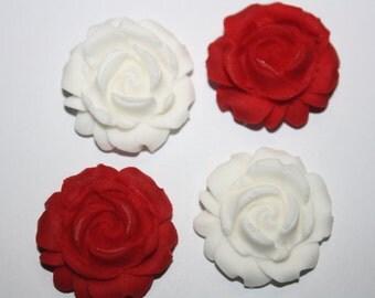 Edible Rose Cake Decoration : Edible flowers cake decoration Etsy