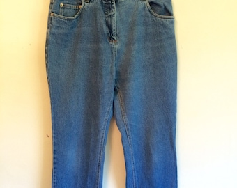 SALE 1980s blue madonna jeans