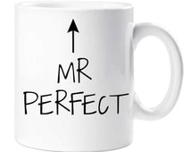 Mr Perfect Mug Fathers Day Dad Uncle Grandad Grandpa Cup Birthday Christmas