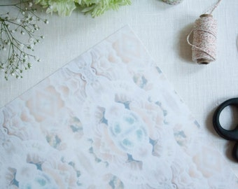 Wrapping paper Sheet - A3 Under the sea, natural, ocean inspired