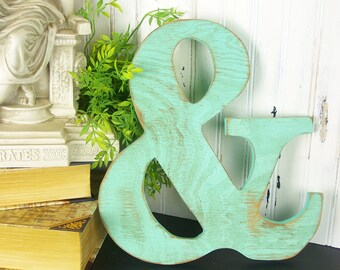 Ampersand Wall Decor ampersand wall art | etsy