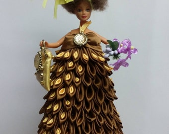 Handmade Art Deco Doll