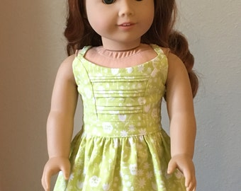 "Boomerit Falls Sundress for 18"" American Girl Dolls"