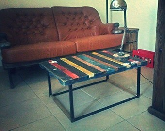 Table low industrial color palette