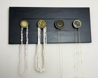 Necklace Holder / Chalkboard / Blackboard / Jewelry Organizer / Necklace Organzier / Necklace Storage