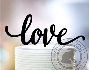 Love Wedding Cake Topper 12-219