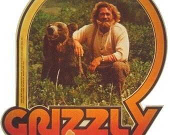 1970's Vintage Grizzly Adams Custom Tee Shirt