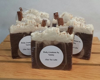 Chai Tea Latte Goats Milk Soap