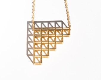 Tetris Pendant | Necklace 2