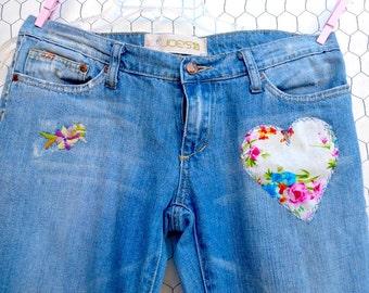 Upcycled Joe's Jeans