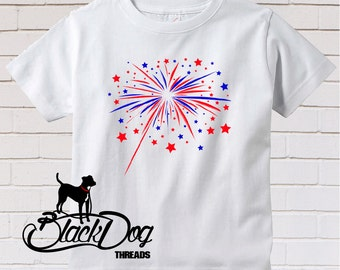 4th of July, Independence Day, Firework, Fireworks, Boom, Kid Summer Shirt