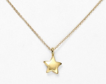 Bailey's Petite Golden Star Necklace
