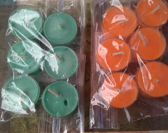 Soy tealights