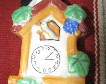 Wall Pocket of a Cuckoo Clock, Vintage