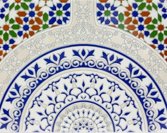 Touska - wall tiles from Morrocco