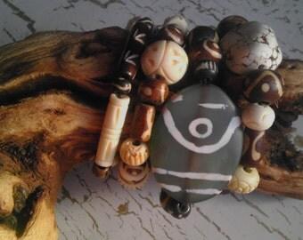 Tribal/Bohemian Bracelet set