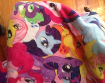 My Little Pony fleece fabric