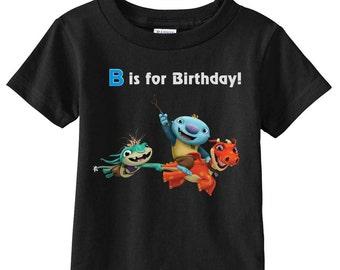 Wallykazam and Bobgoblin t-shirt  Custom (colors)