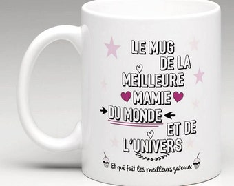 Mug mamy best mamy of the world pink